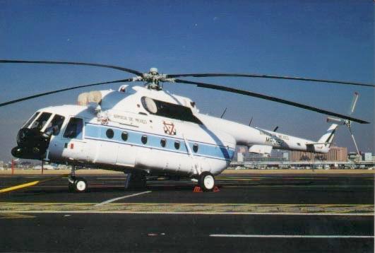 aeronaves - Aeronaves  del pasado de la SEMAR. Mi-08