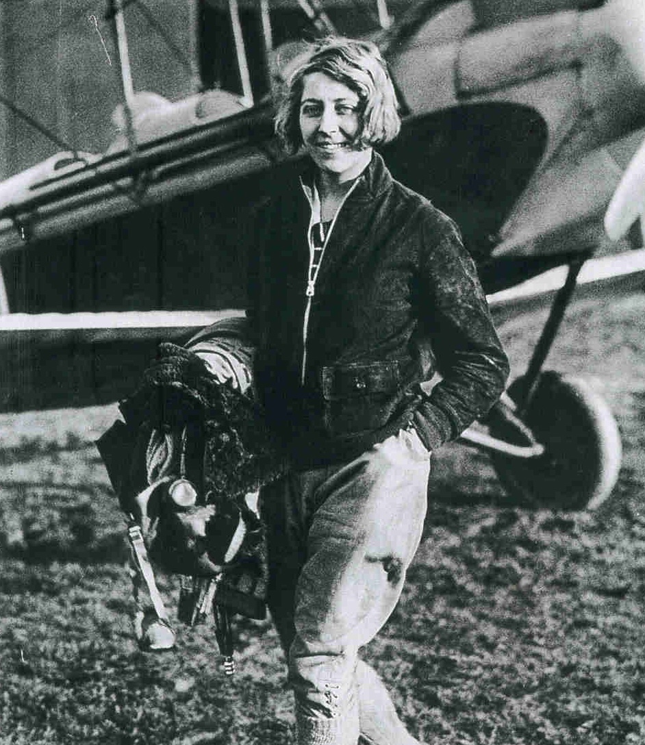 Amy Johnson (photo, via author)