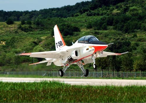 T-50 на Korea Aerospace Industries