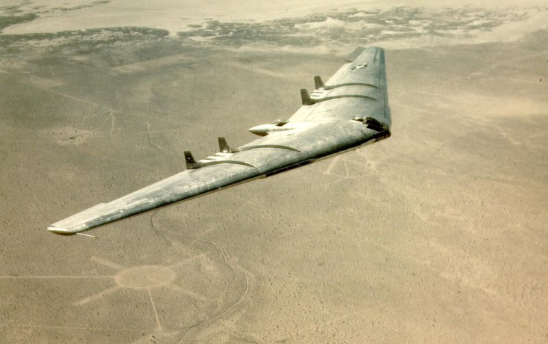 Northrop YB-49 (photo, US Air Force)