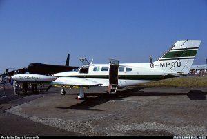 Cessna 402 Utiliner <br />in H.M. Coastguard Service