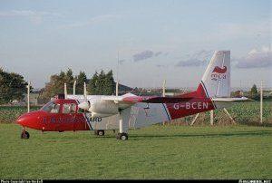 Britten-Norman BN-2A Islander <br />in H.M. Coastguard Service