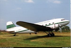 Douglas DC-3 Dakota <br />in H.M. Coastguard Service