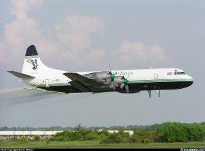Lockheed L-188 Electra <br />in H.M. Coastguard Service