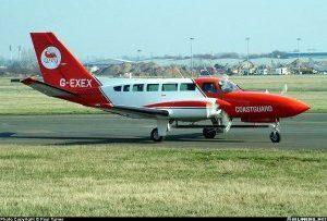 Cessna 404 Titan II <br />in H.M. Coastguard Service