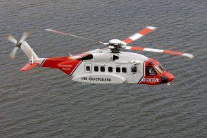 Sikorsky S-92 <br />in H.M. Coastguard Service