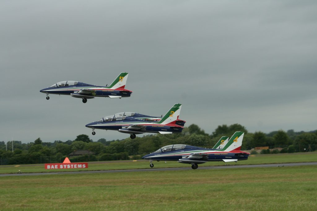 Another view of Il Frecce Tricolori Taking-Off