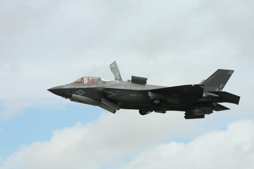 Lockheed Martin F-35 Lightning II at RIAT 2016