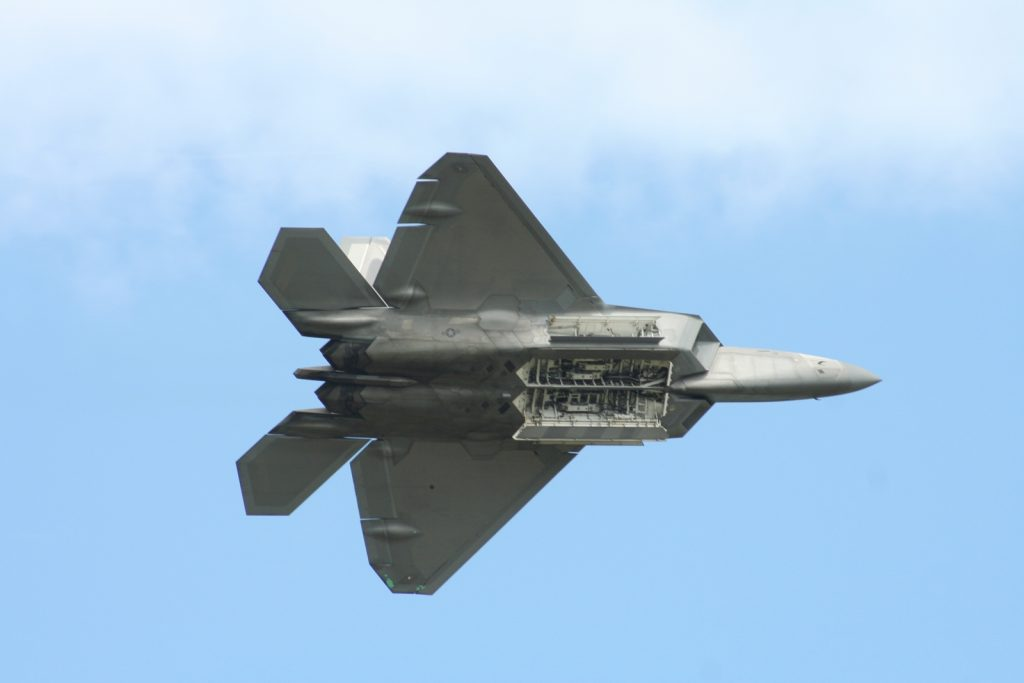 Lockheed Martin F-22 Raptor at RIAT 2016
