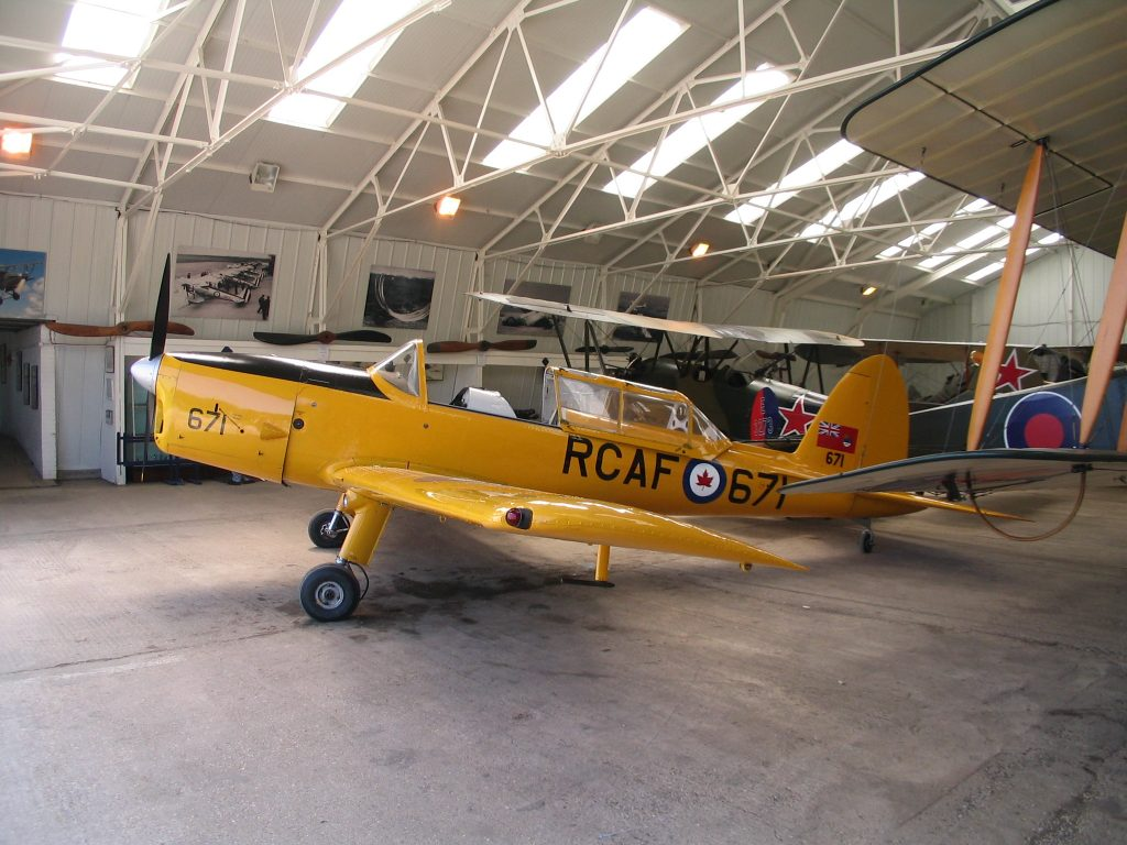Chipmunk at Shuttleworth