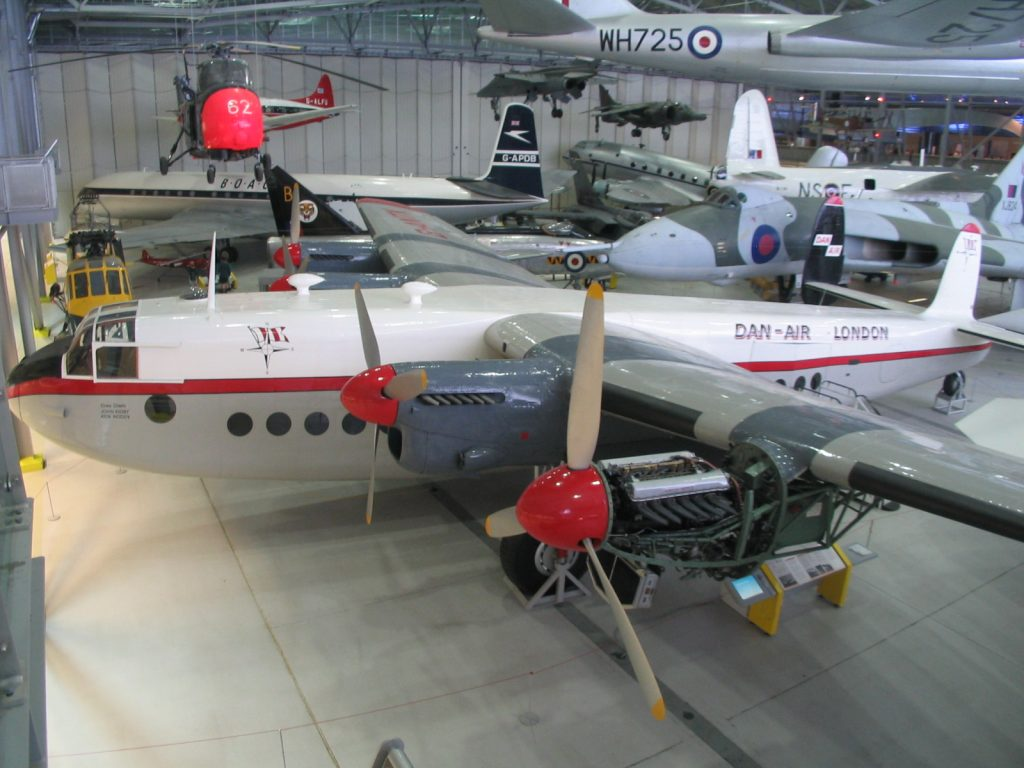 Avro York at IWM Duxford