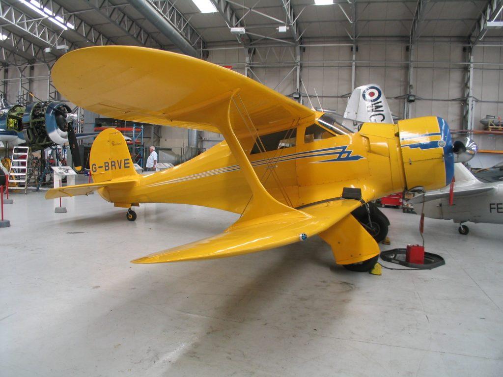 Beech 17 at IWM Duxford