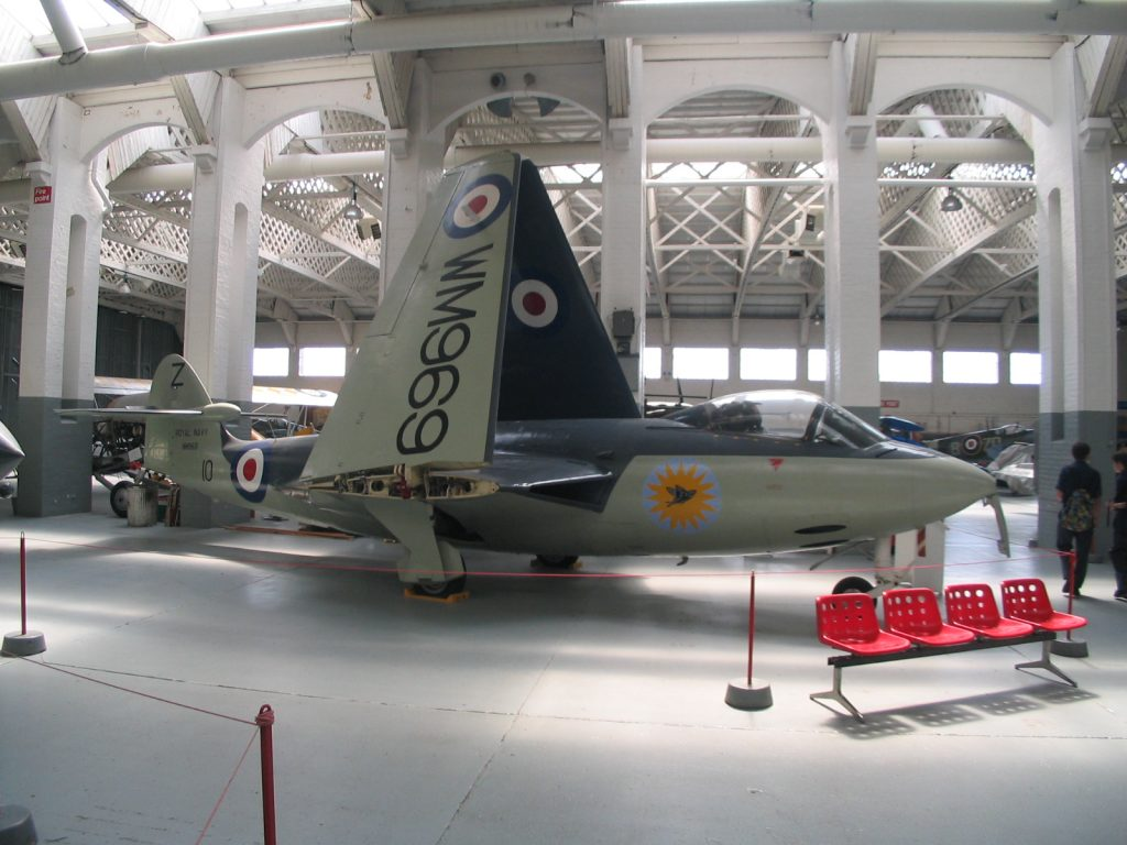 Hawker Seahawk at IWM Duxford