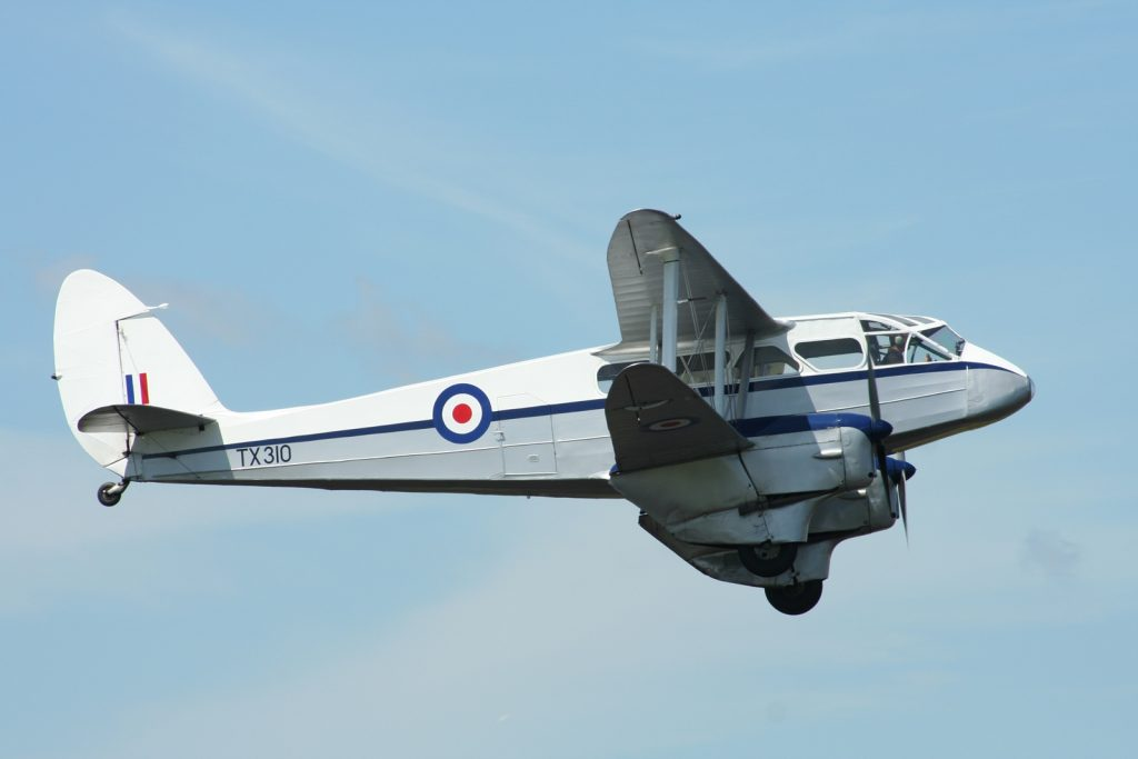 Dominie TX310 / G-AIDL at Cotswold Air Show 2010