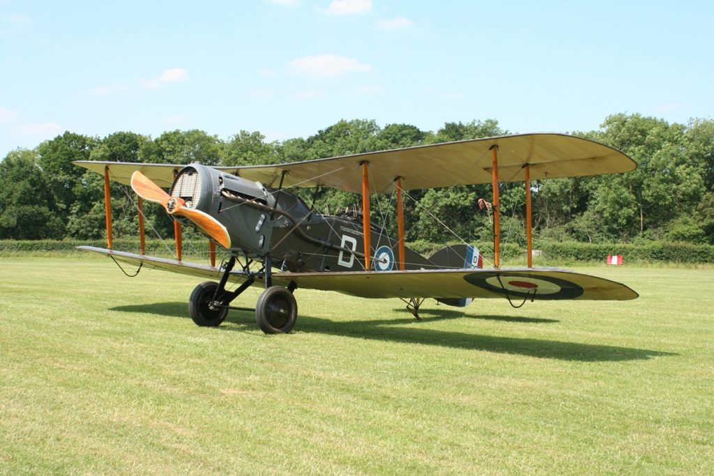 Bristol Fighter at Shuttleworth