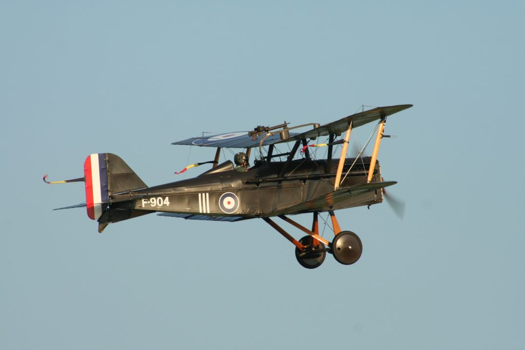 SE.5A at Shuttleworth