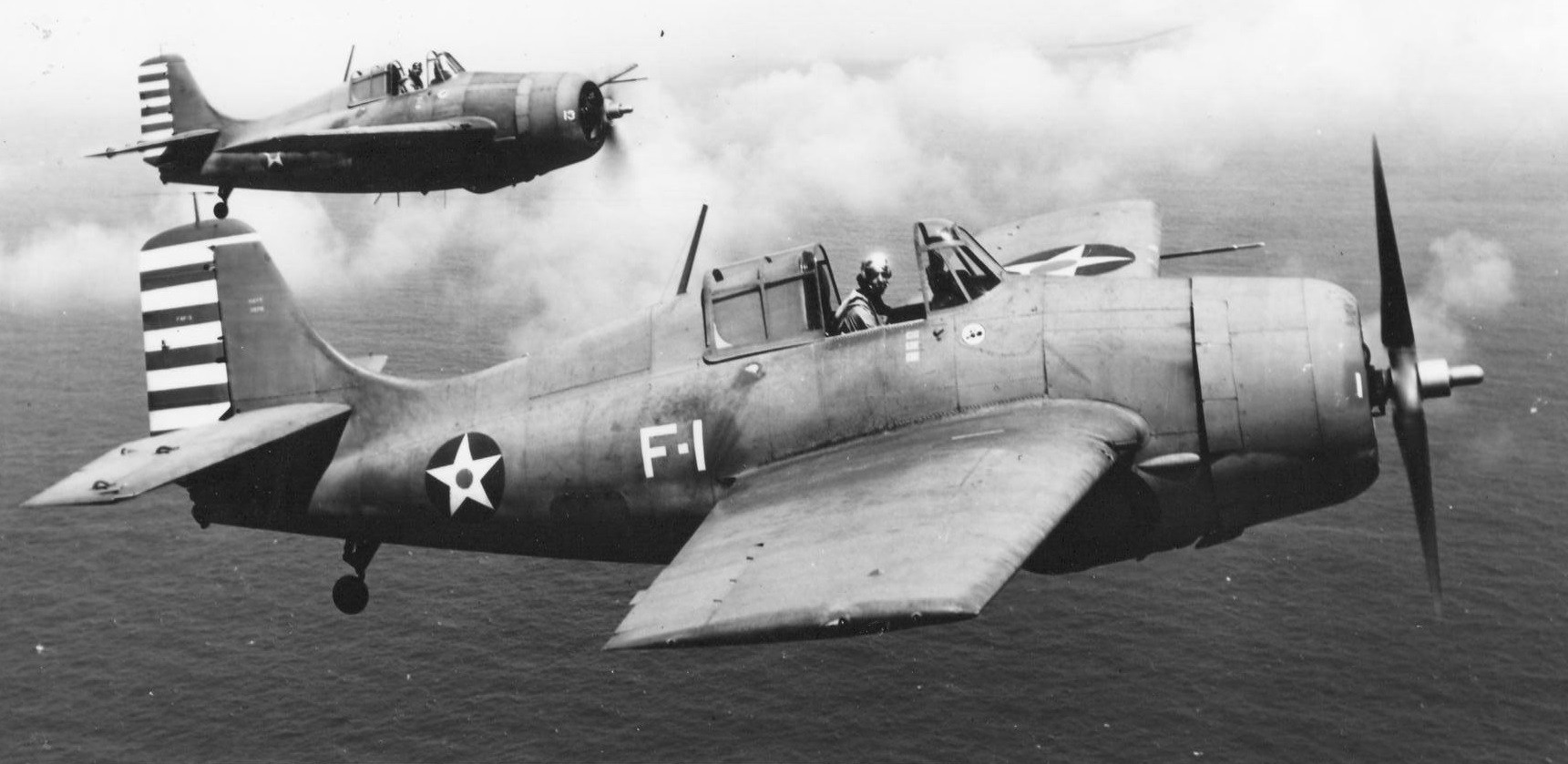 VF-3 F4F-3 Wildcats of Thatch and O'Hare