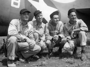 F4F marine aces Smith, Frazier, Dobbin and Galer on Guadalcanal