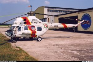 Mil Mi-2<br /> in Polish Border Guard Service