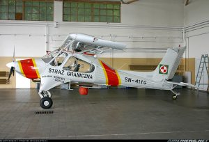 PZL-104<br /> in Polish Border Guard Service