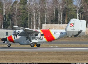 PZL M28 Skytruck<br /> in Polish Border Guard Service