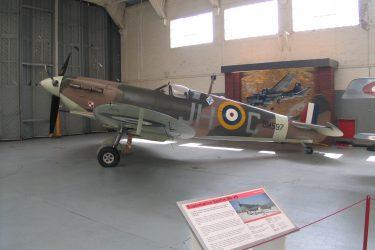 Spitfire BM597 at IWM Duxford