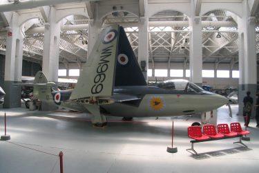 Hawker Seahawk at IWM Duxford