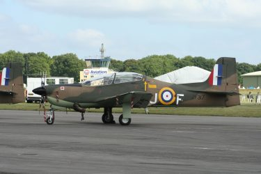 Tucano ZF317 at Cotwold Air Show 2010