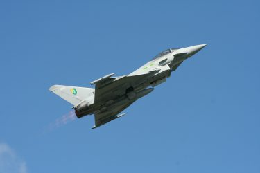 Typhoon at Cotswold Air Show 2010