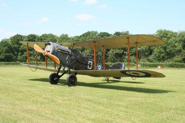 Bristol Fighter at Shuttleworth
